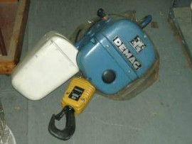Re-Conditioned Demag hoists